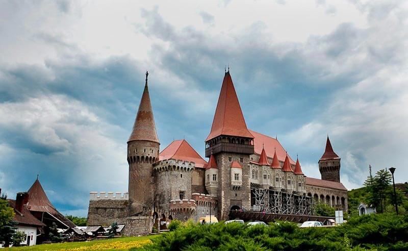 Rent a motorcycle Corvin Castle Guided Tour